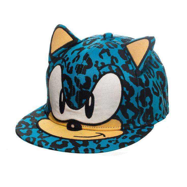 Keps #Sega - #Sonic med öron #keps #kepsar #cap #fashion #snapback