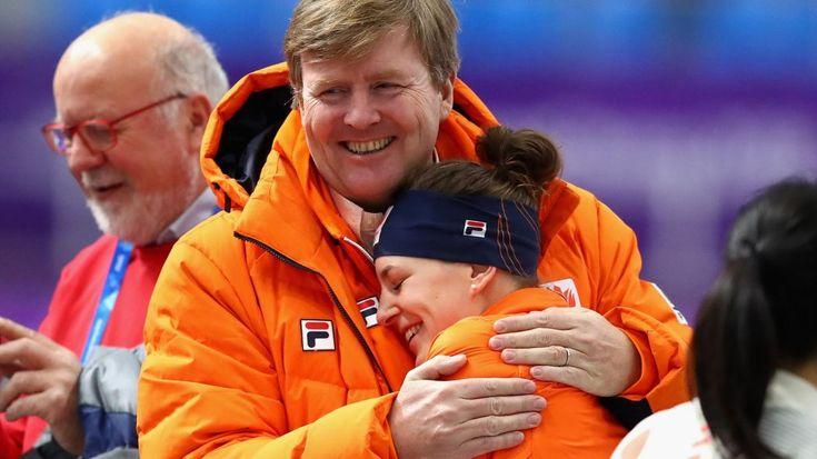 Willem-Alexander en Irene Wust Pyeongchang 2018