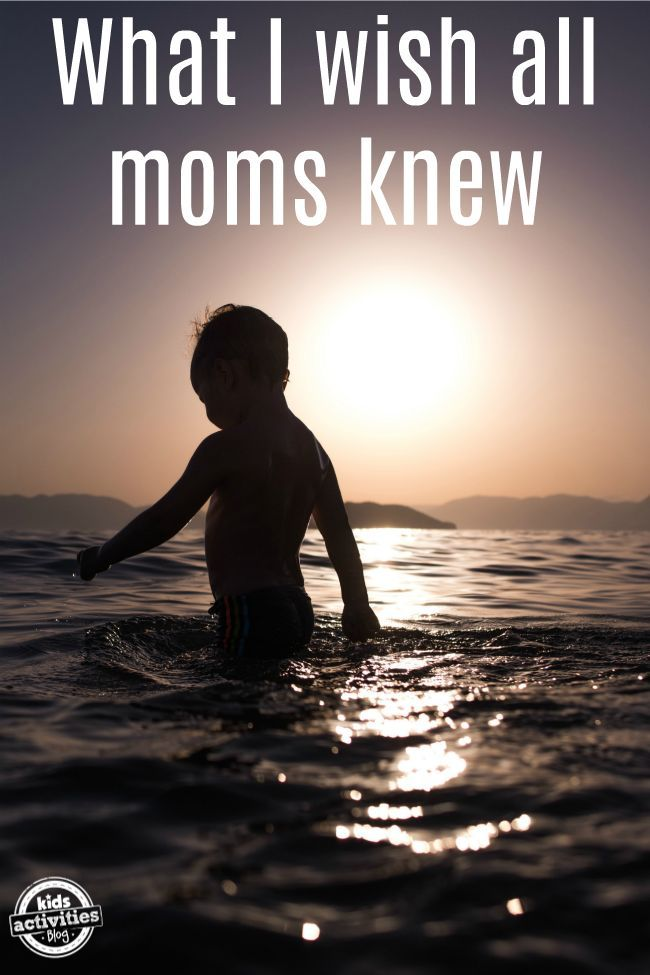 Things I Wish All New Moms Knew