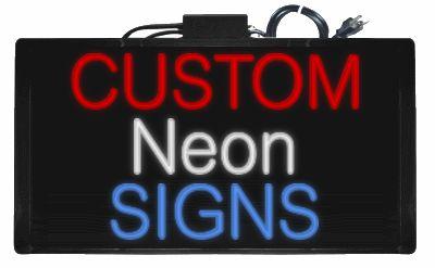 Custom Neon Sign Maker   BudgetNeon.com