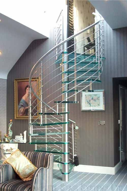 Best Glass Spiral Staircases Spiral Staircases And Staircases 400 x 300
