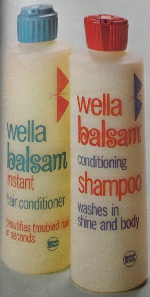 Wella Balsam. I loved the smell of the shampoo and conditioner! Sure wish it was still on the market.: