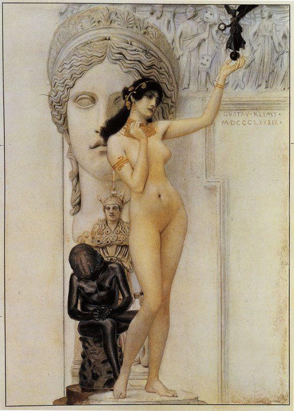 Gustav Klimt — Allegory of Sculpture