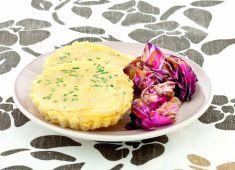 Tortino di ceci e patate arrosto con radicchio rosso - Tutte le ricette dalla A alla Z - Cucina Naturale - Ricette, Menu, Diete