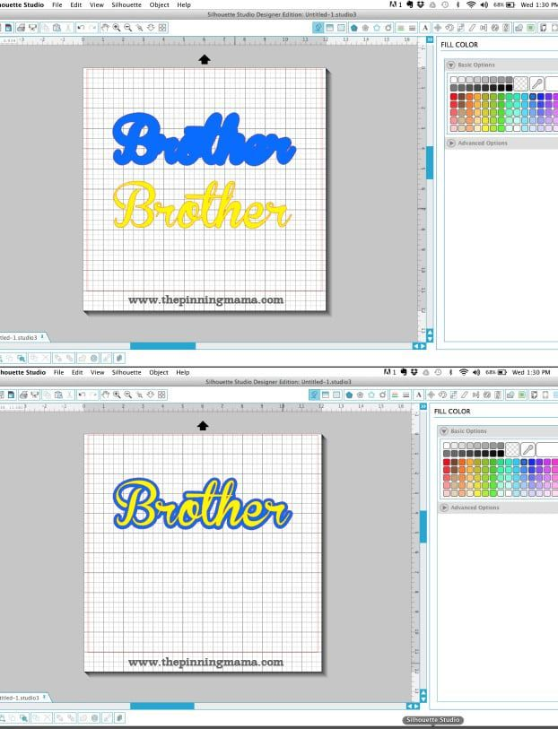 This tutorial shows you how to get the look of outlined text for projects with your Silhouette Cameo and Portrait. You will love how easy it is to create this cool effect! This tutorial came abou…