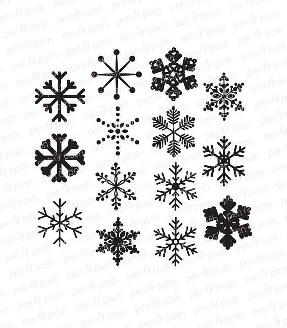 20++ Snowflake clipart free svg ideas in 2021