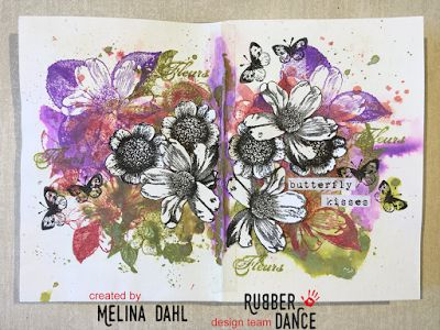En blogg om mixed media, scrapbooking, art journaling och kortmakeri bland annat.