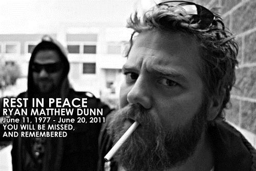 Ryan Dunn - so sad - Rest in Paradise