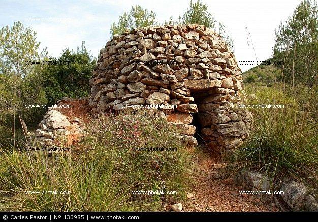 Cabaña de piedra refugio de pastores, Massis del Garraf