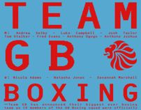 Team GB Boxing Squad / London Olympics 2012