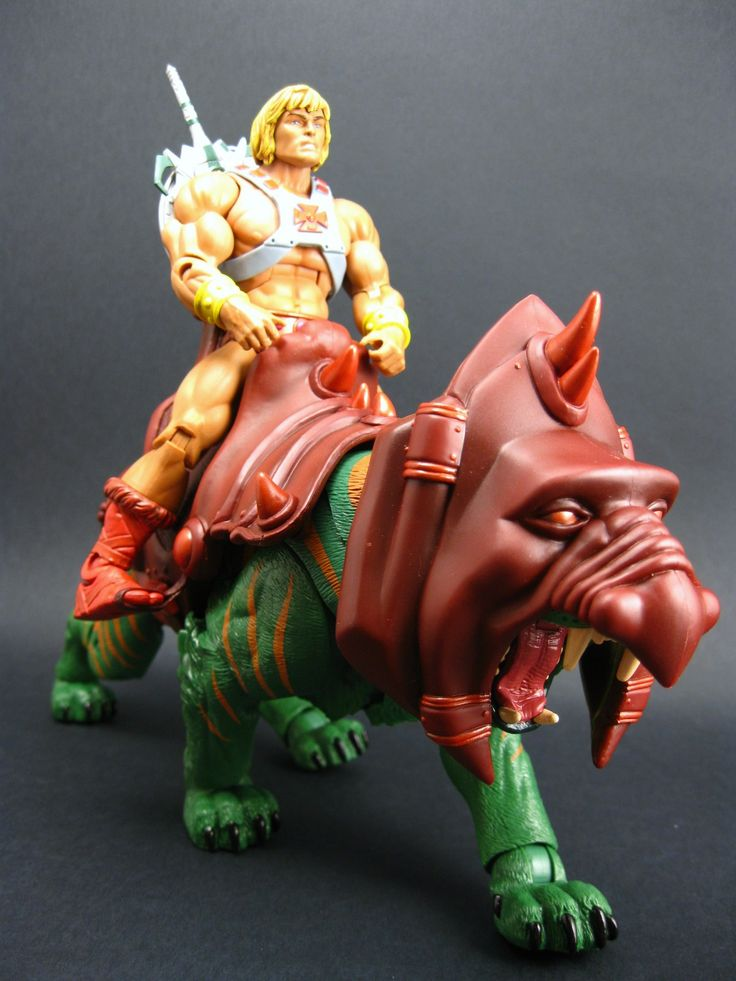 masters of the universe action figures | Masters of the Universe Classics Battle Cat - Action Figures - Figuras ...