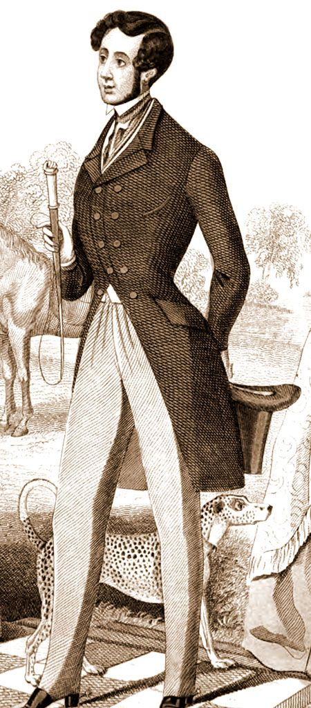 1841 Victorian Mens Clothing