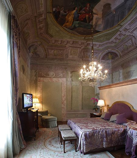 Four Seasons Bedroom in my favorite city in the world -- Florence, Italy.