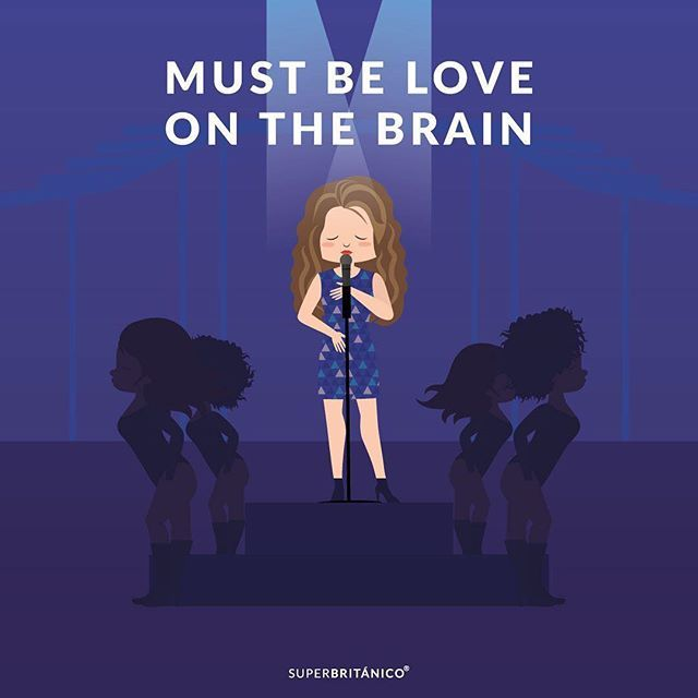 Must be love on the brain. #AmaiaOfSpain www.superbritanico.com