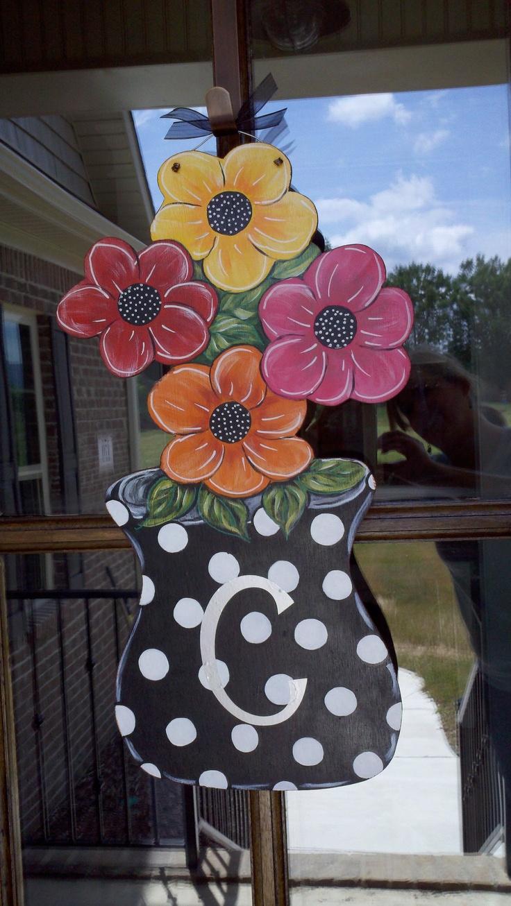 Summer Bouquet Door Greeter...