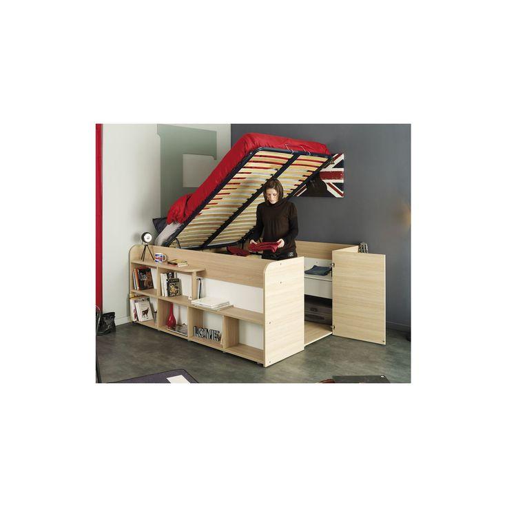 1000 id es sur le th me lit pas cher sur pinterest structure de lit design - Lit designe pas cher ...
