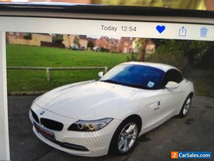 BMW Z4  3.0 i S Drive convertible white 2009 amazing spec tv  hard drive cd  #bmw #z4 #forsale #unitedkingdom