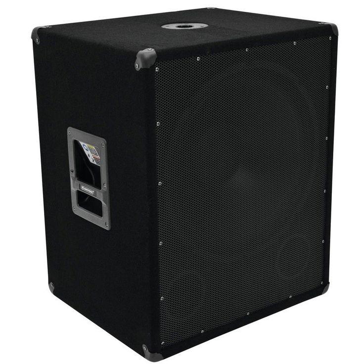 NEUF haut-parleur PA SUBWOOFER Boîte SONORISATION DISCOTHÈQUE CLUB 1200W BOXE