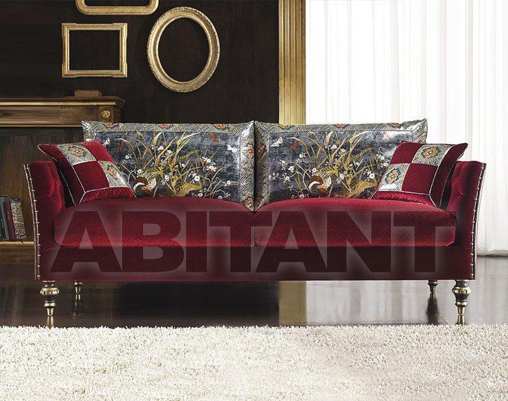 Диван CARNABY бордовый Bedding CARNABY DIVANO 2 POSTI , каталог мягкой мебели: фото, заказ, доставка - ABITANT , Москва