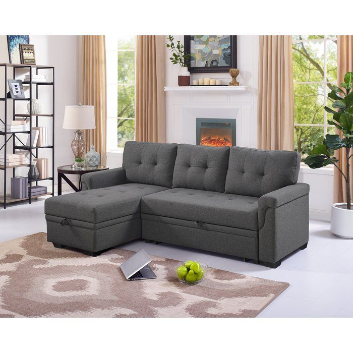Whitby 86 Reversible Sofa Chaise Sectional Sleeper Sofa Sleeper Sectional Sectional Sofa