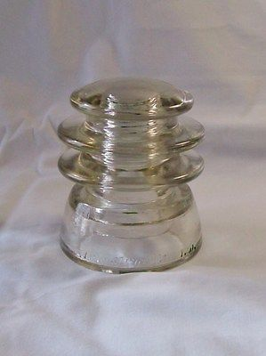 103 best vintage glass insulator art images on pinterest for Glass telephone pole insulators