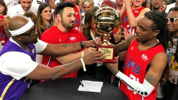 Quavo Kills It At NBA All-Star Celebrity Game: Beats Justin Bieber To Win MVP