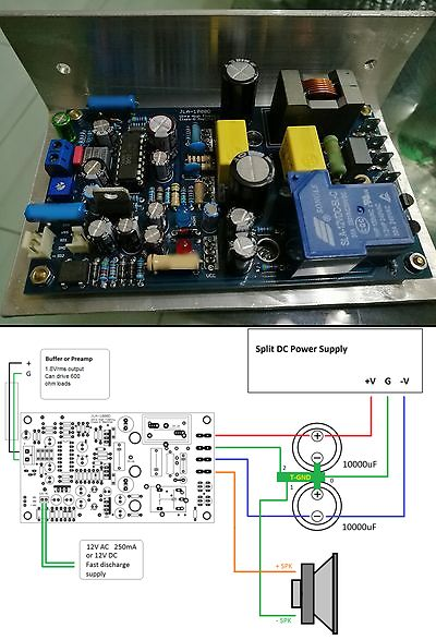 Amplifier Parts and Components: 1Pc Assembled Module: Jla-1000D 500W 4 Ohms Mid Power Class-D Amplifier Irs2092 -> BUY IT NOW ONLY: $55.0 on eBay!