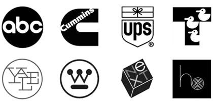Paul Rand created trademarks up to the day he died, november 26, 1996 at the age of 82.