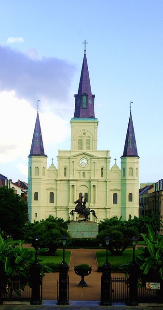 New Orleans: Favorite Places, Church Stuff, Favorite Cities, Orleans St Louis, Nola N Awlins, Beautiful Places, Louisiana Living, Louis Cathedral One