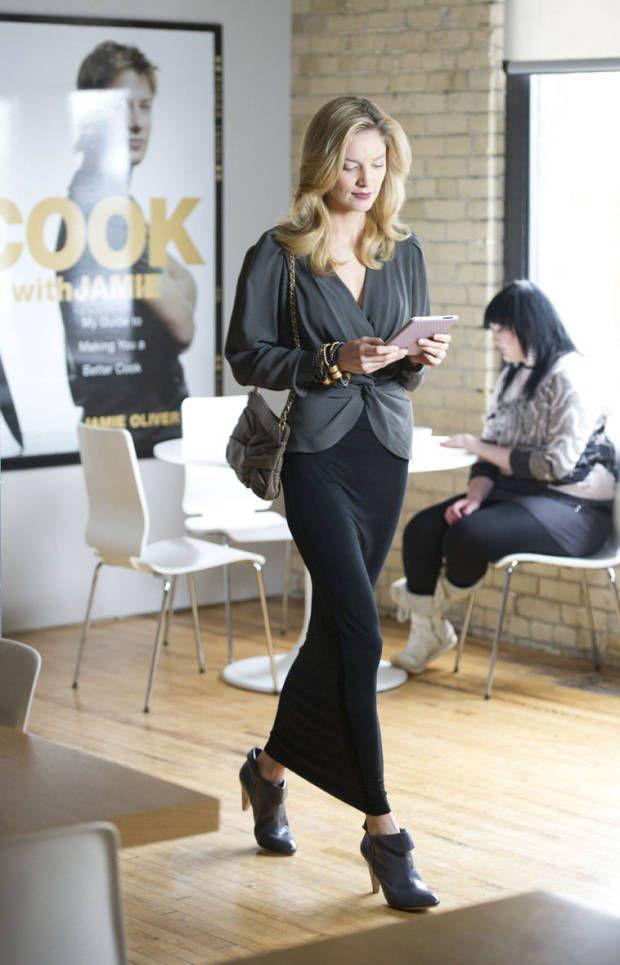 落ち着いた大人の女性。素敵な40代の着こなし術♡アラフォー ロンスカおすすめコーデ参考です。