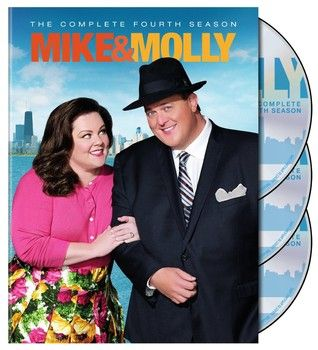 TV's favorite couple, Primetime Emmy winner Melissa McCarthy and Billy Gardell, return in CBS's hilarious television series 'Mike and Molly: The Complete Fourth Season', arriving on DVD on Tuesday, September 30, 2014. Additional cast: Reno Wilson, Katy Mixon, Nyambi Nyambi, Louis Mustillo, Cleo King, Rondi Reed, Swoosie Kurtz and David Anthony Higgins.