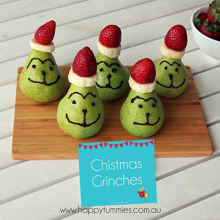 Day 8 of the 12 Days of Christmas - Grinches!!