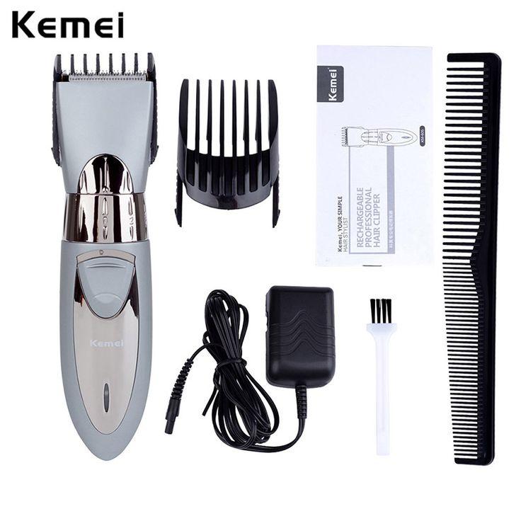Professional Electric Hair Clipper Rechargeable Hair Trimmer Hair Cutting Machine To Haircut Beard Trimer Waterproof P00