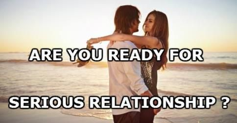 ready for a serious relationship