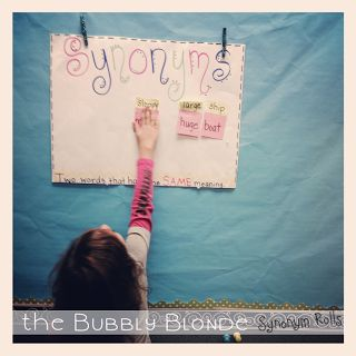 Great synonym activity. Gets the kids moving.