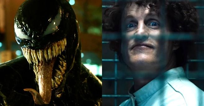 Tom Hardy offers a look at Woody Harrelson as Cletus Kasady in Venom 2 ...