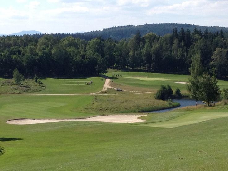 Ypsilon Golf Course, Liberec, Czech Republic, golfbaan in Tsjechië.