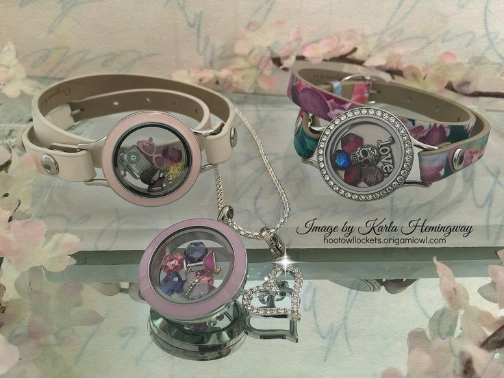 Origami Owl Spring 2015 Pastels And Florals Wrap Bracelets And