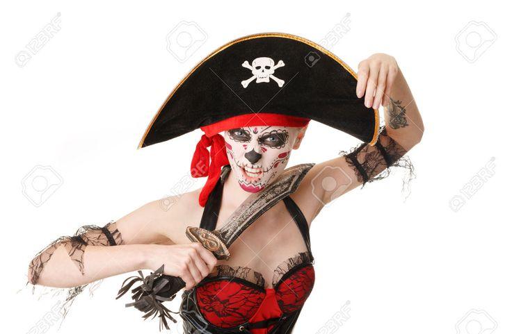 maquillaje pirata mujer - Buscar con Google