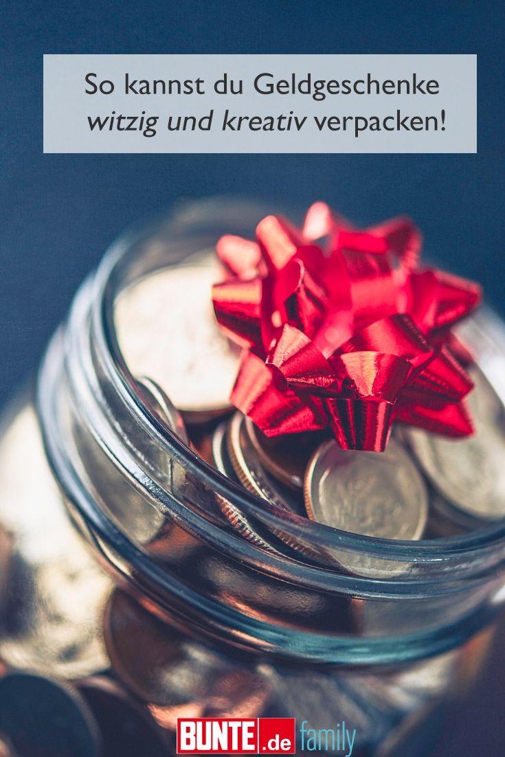 Witzige Geldgeschenke: So kannst du Geldgeschenke witzig und kreativ ...