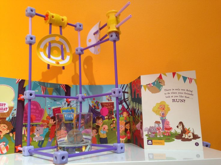 The latest addition to GoldieBlox's line of engineering toys for girls ages 4-9.