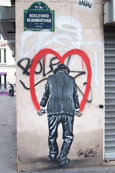 Nick Walker UK  / BD Beaumarchais - Paris 11ème
