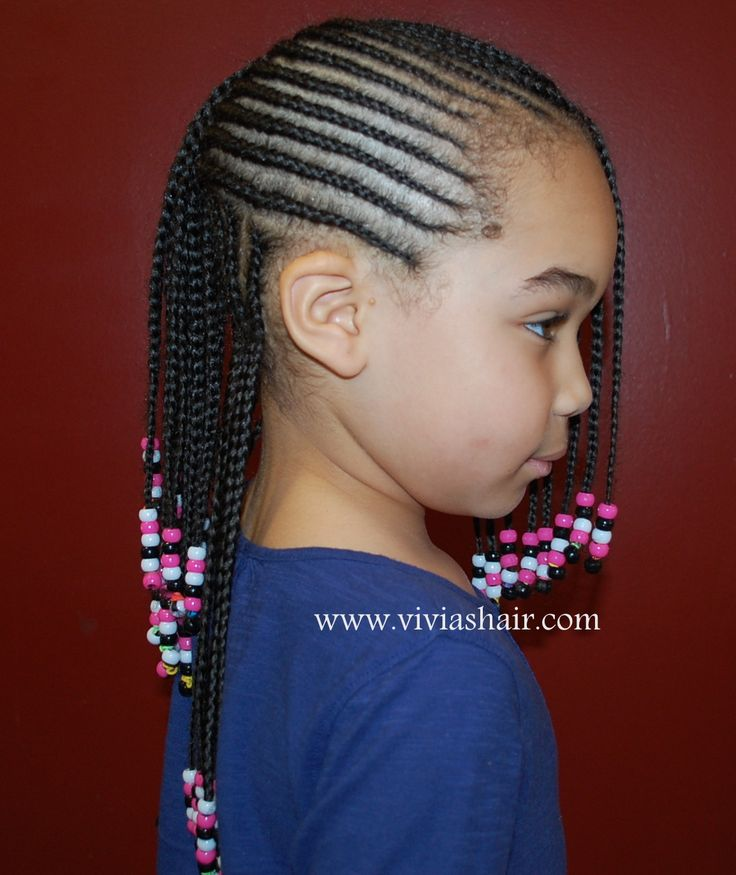I love these braids, except I would prefer them a little larger for my baby.