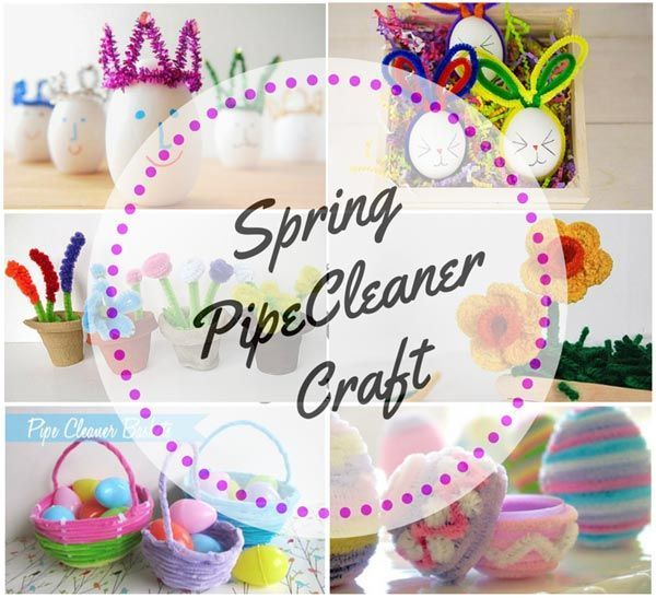 I love Spring and pipe cleaners. A great theme to go with a great craft material. Here's some of the best Spring Pipe Cleaner Crafts I found on the web.
