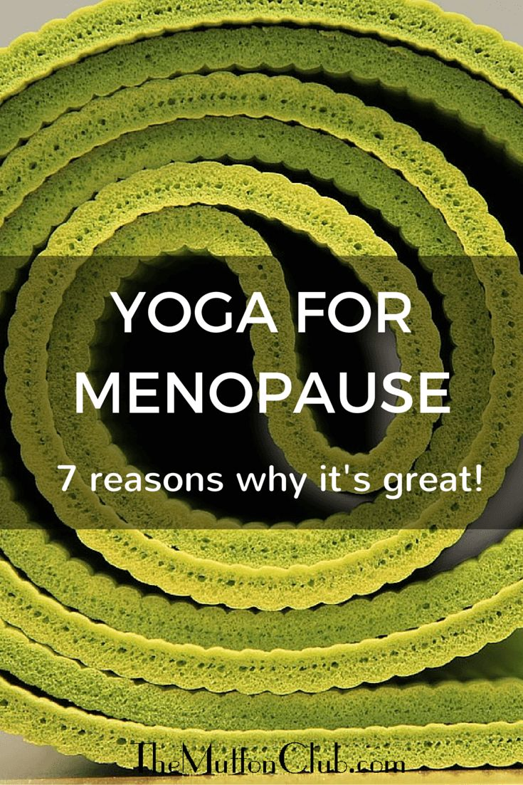 Looking for a natural remedy for hot flushes and achy joints? Yoga is probably the answer. Here's why it's great to try yoga for menopause symptoms.                                                                                                                                                     More