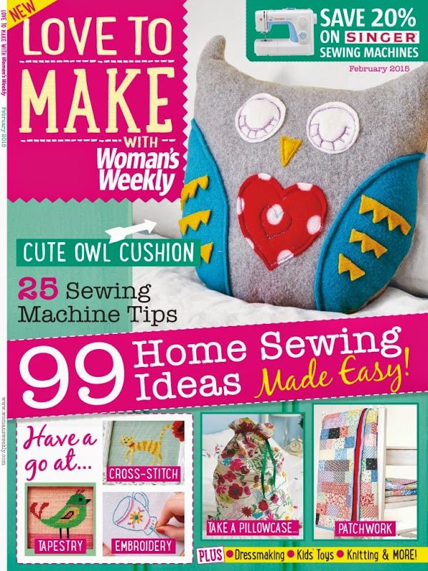 Love to make with Woman's Weekly 2015 02