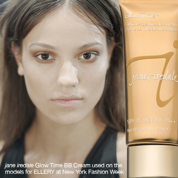 Jane Iredale Mineral Make Up Glow Time BB Cream at New York Fashion Week 2012