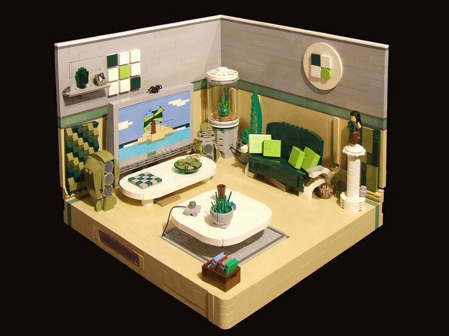 123 best Lego Interior Design images on Pinterest Lego furniture