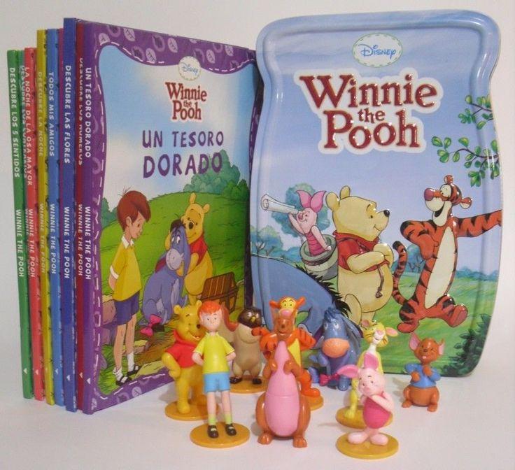 Disney Winnie Pooh y sus Amigo Lote de 10 Libros en Español con Personajes