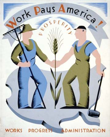 WPS Poster Collection/Library of Congress (Digital File No cph 3b48737  A poster by Vera Bock for the Works Progress Administration, c. 1936–41. Works Progress Administration (WPA) | Britannica.com